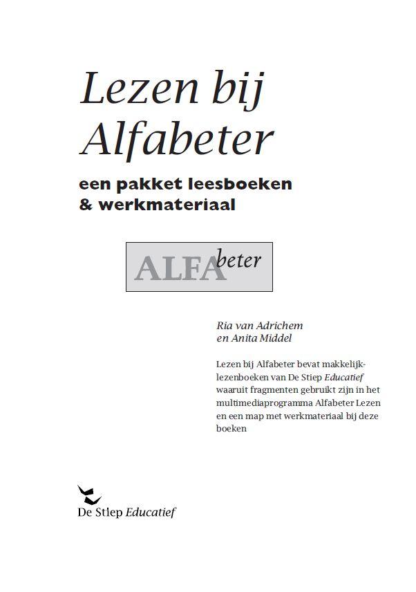 Lezen bij Alfabeter